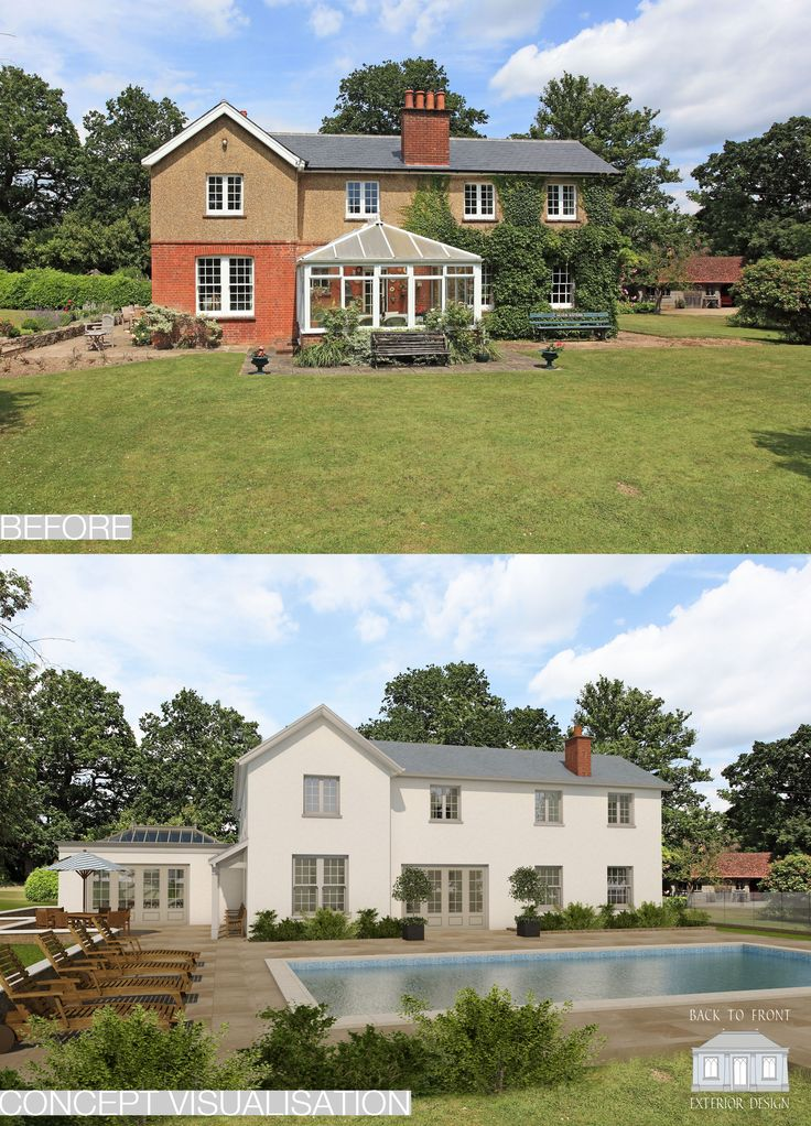 Traditional remodelling and extending design in Kent by Back to Front Exterior Design