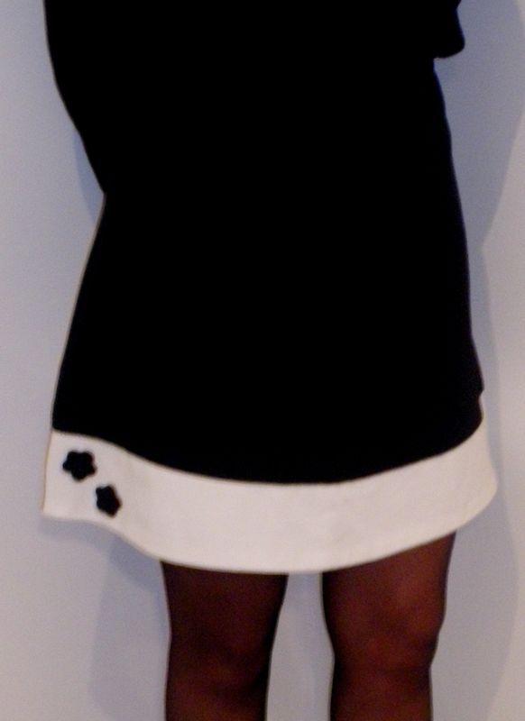 Idée pour rallonger et customiser une jupe trop courte