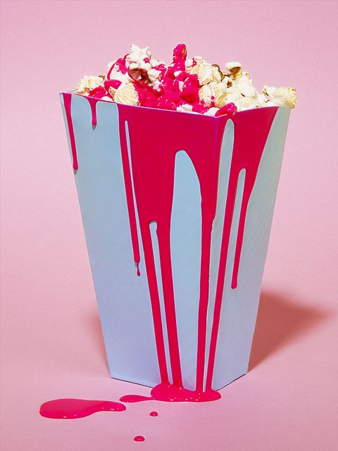 art direction | popcorn food styling photography