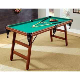 'The Real Shooter' 6 foot Pool Table | Overstock™ Shopping - Great Deals on Billiard & Pool Tables