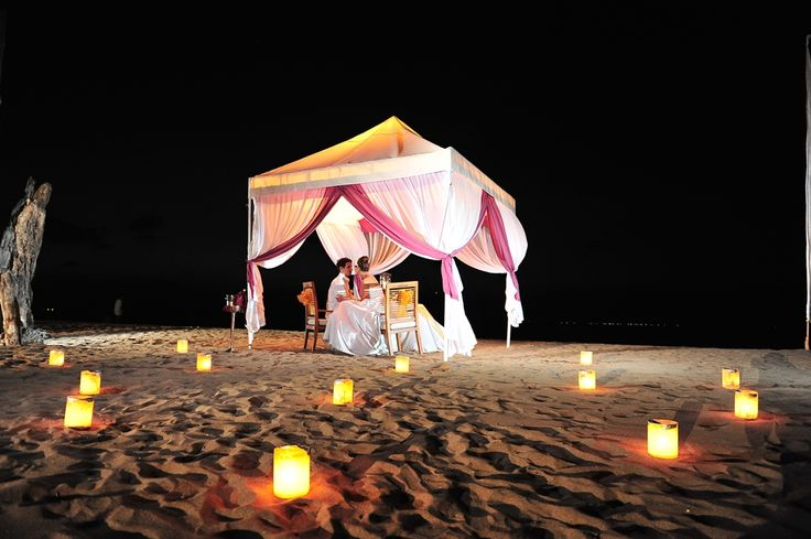 Romantic Dinner at The Beach by Ma Joly Restaurant