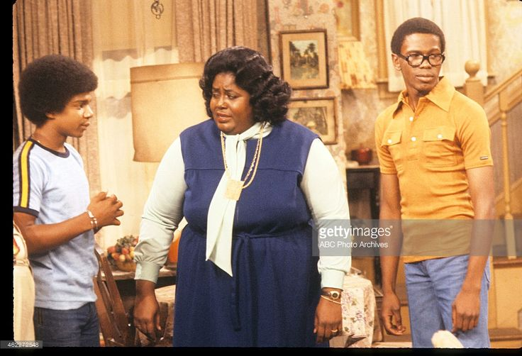 """""""What's Happening"""", December 22, 1977. Haywood Nelson, Mabel King, and Ernest Thomas"""