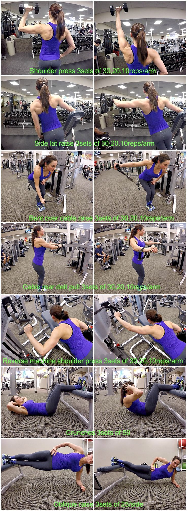 10 Weeks To Fitness-Day 63: SHOULDERS & ABS