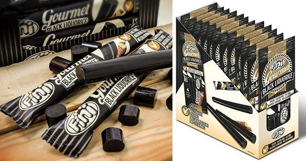 """La compañía Fini Golosinas apuesta por un nuevo regaliz negro para su línea """"inspirada en la versión más clásica y artesanal"""" de este producto."""