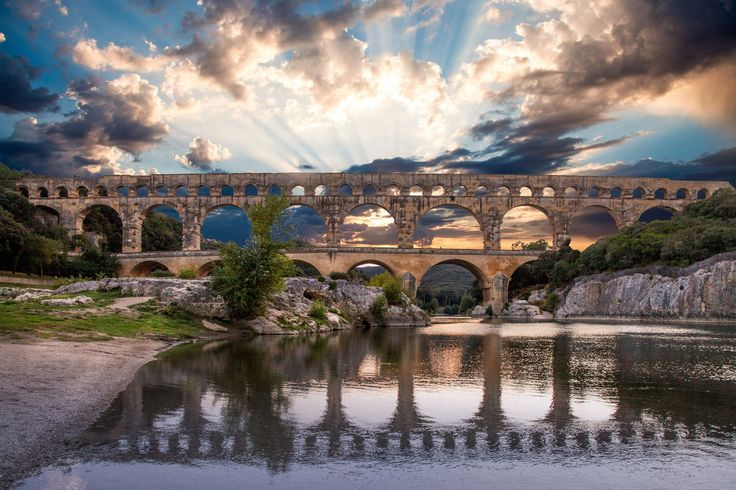 Photograph Pont du Gard by Martine Guay on 500px
