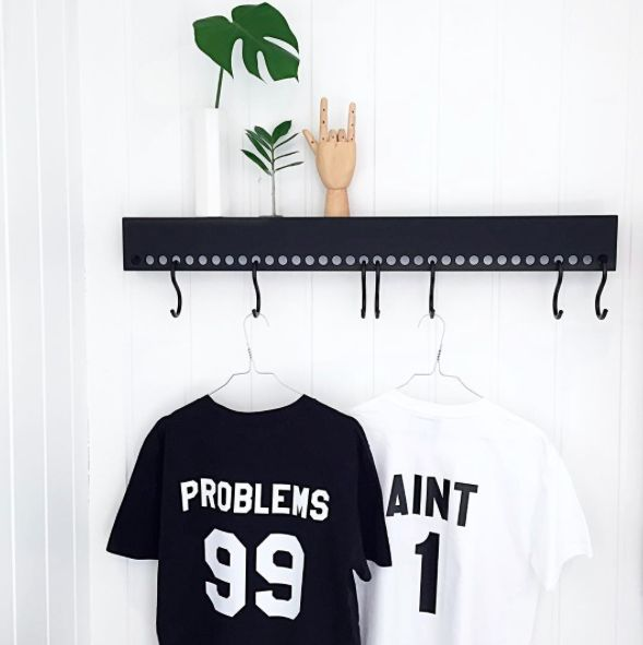 Instagram: @interiorbonanza + nomess + hay + tshirt + fun + jayz + rap + knagg + hylle