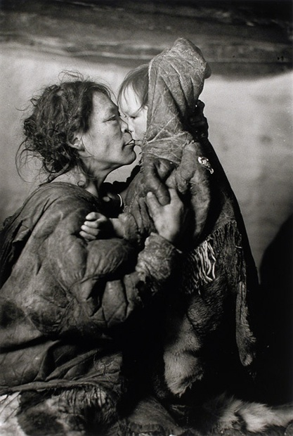 Richard Harrington Artmo | Padlei, N.W.T A Grandmother's love is the same all over the world.....