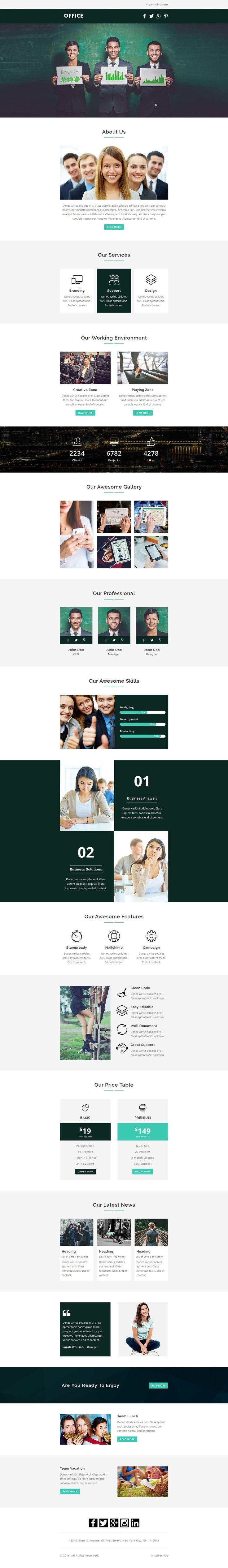 Mejores 16 imágenes de email marketing layout en Pinterest ...