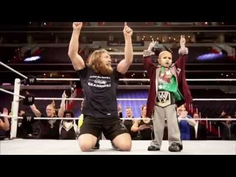 In memory of CONNOR MICHALEK (The Crusher) ! the fact that the wwe universe put so much into a kid who was so special and was a fighter .. this literally made my heart melt .. you will always be the best little boy in the world ! we miss you connor ..