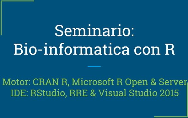 #RprogrammingForBiologist #rstats #unicartagena #fb #twitter