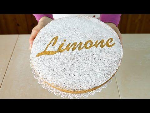 TORTA SOFFICE AL LIMONE Ricetta Facile Senza Latte e Senza Burro - Lemon Sponge Cake Easy Recipe - YouTube