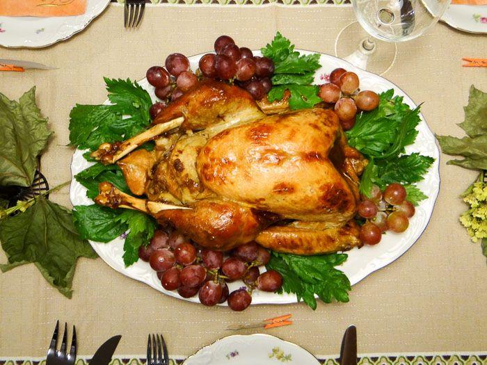 Receita de Peru de Natal - suculento e delicioso