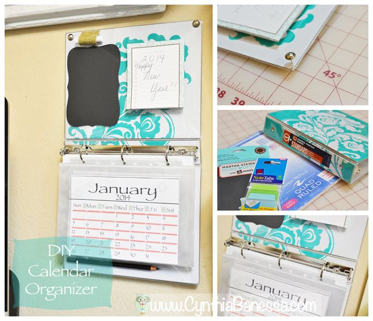 Diy Calendar Organizer : Best organizing images on pinterest calendar for