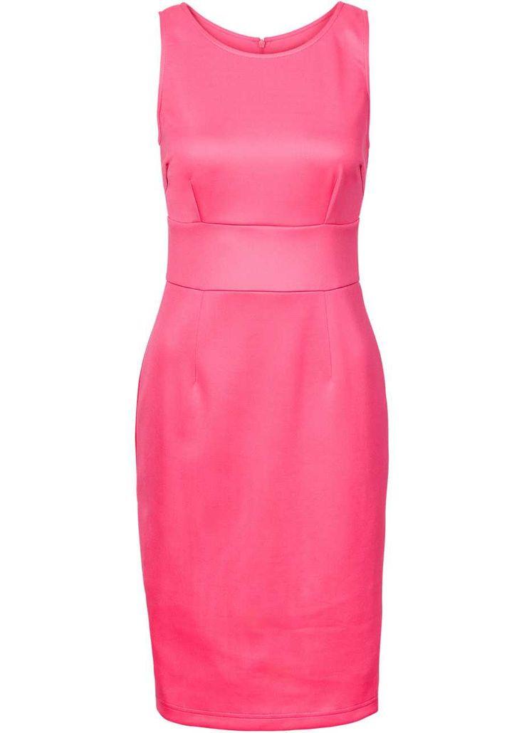 Scuba-Kleid, BODYFLIRT, Dress dunkelpink rosa pink