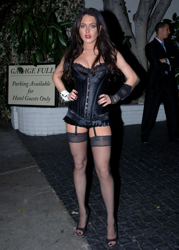 Advise lindsay lohan stockings all business