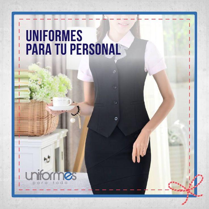 Dale una nueva imagen a tu empresa con un nuevo uniforme ¡Nosotros te asesoramos! #UniformesParaTodo #Empresa #Dotacion #Marca  www.uniformesparatodo.com