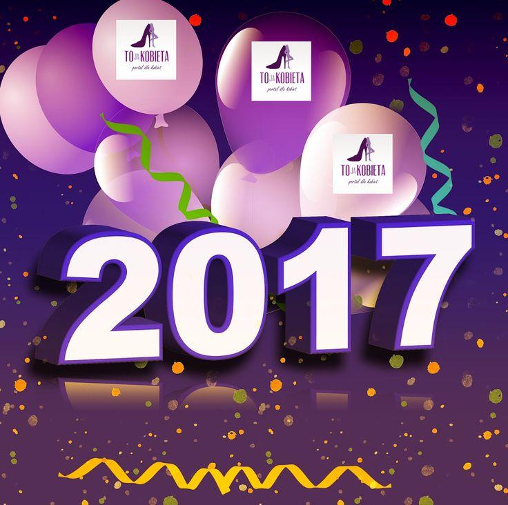 Szampańskiej zabawy 💃 💃 💃 🎵🎵🎵 🎈 🎈 🎈 🎉 🎉 🎉 i Szczęśliwego Nowego Roku 2017 💗 Spełnienia marzeń kochani 😍 Będziecie z nami w 2017 roku? Chyba tak, prawda? :) #tojakobietapl #kobieta #portaldlakobiet #poznań #Sylwester #Szampańska #zabawa #SzczęśliwegoNowegoRoku2017 #NowyRok Portal dla Kobiet www.tojakobieta.pl