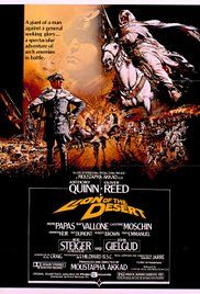 Lion of the Desert (1980) stars Anthony Quinn and Oliver Reed in a sweeping film centered on Italy's invasion of Libya.