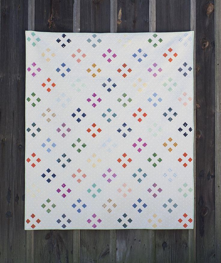 Four Square Quilt : Fresh Lemons Quilts