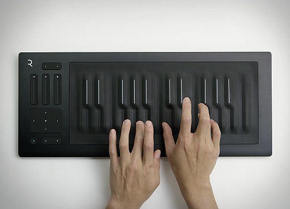 Teclado Musical RISE Seaboard | Roli RISE Seaboard é um premiado teclado musical ressonante aclamado como o dispositivo musical inovador do ano, por elevar a capacidade criativa musical para outro nível. #teclado #musical #RISESeaboard