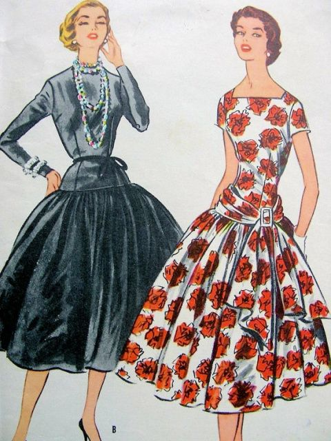 RARE 1950s McCalls 3100 Grace Kelly Dress Pattern Dress Worn For First Meeting…