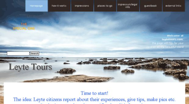 leytetours.com - Leyte Tips! - Leyte Website ma... - Leyte Tours