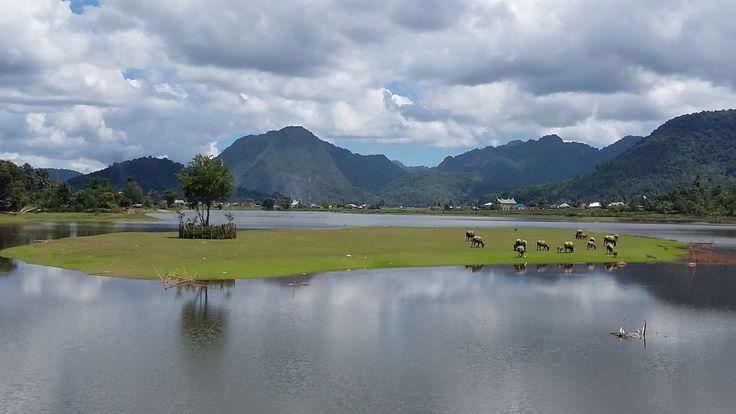 Danau Tarusan Kamang Sumatera Barat