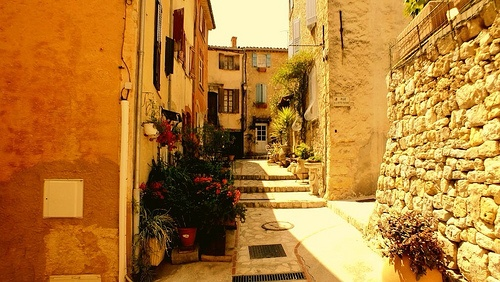 Châteauneuf-Grasse. France