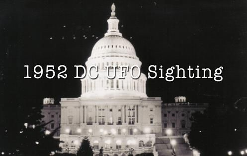 UFOs sightings in Washington DC - White House in 1952