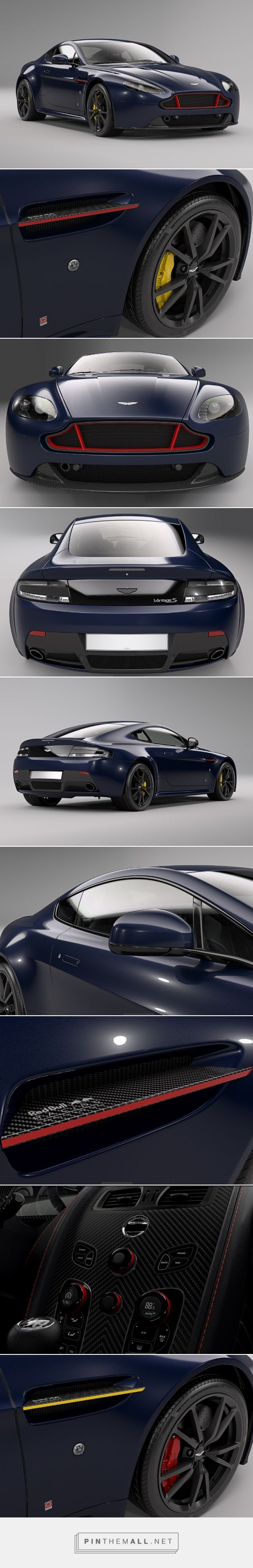 Aston Martin Unveils Vantage Red Bull Racing Range | Man of Many - created via https://pinthemall.net
