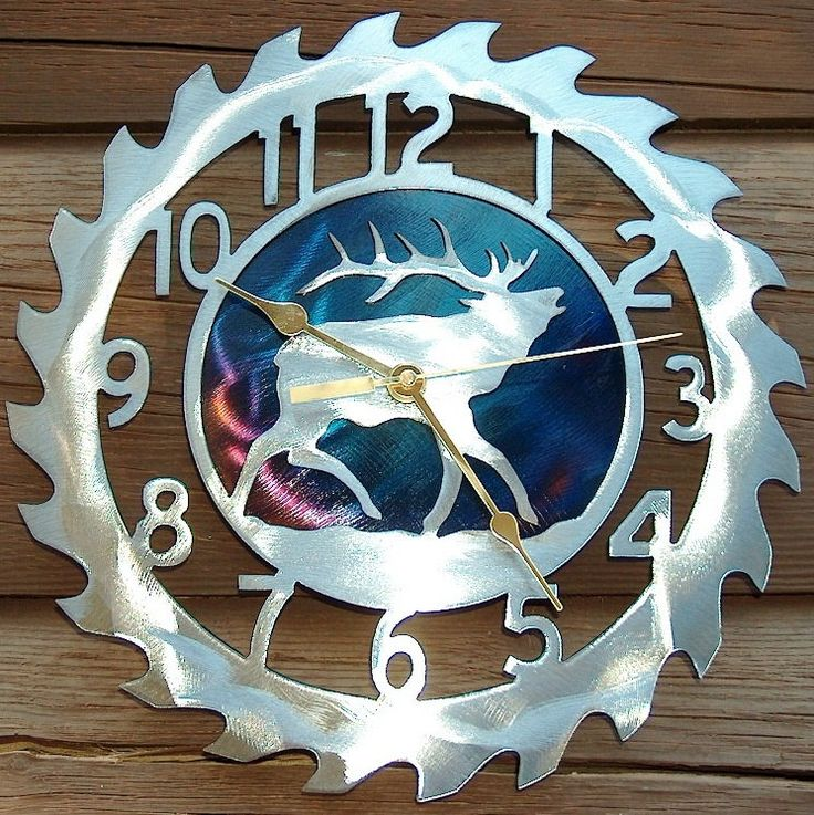 Scroll Saw Wall Clock Plans Woodworking Projects Amp Plans