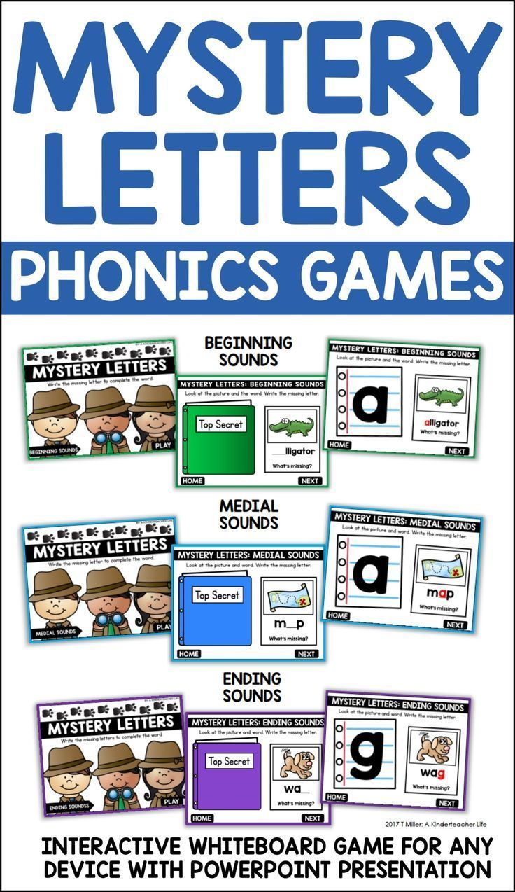 Mystery Letters is a paperless, interactive phonics game for primary aged-students. Mystery Letters is a whiteboard game for students to help students grow as readers and writers by writing the missing letters in a word. Students have to look at the picture and the word and write the missing letter. Then, they check their work on the next slide. Simple!