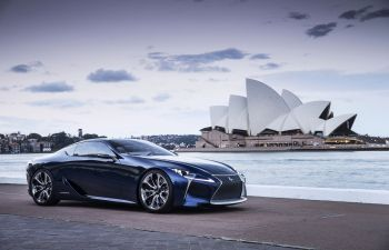 Do we really need to explain why the #Lexus LF-LC Concept is awesome?