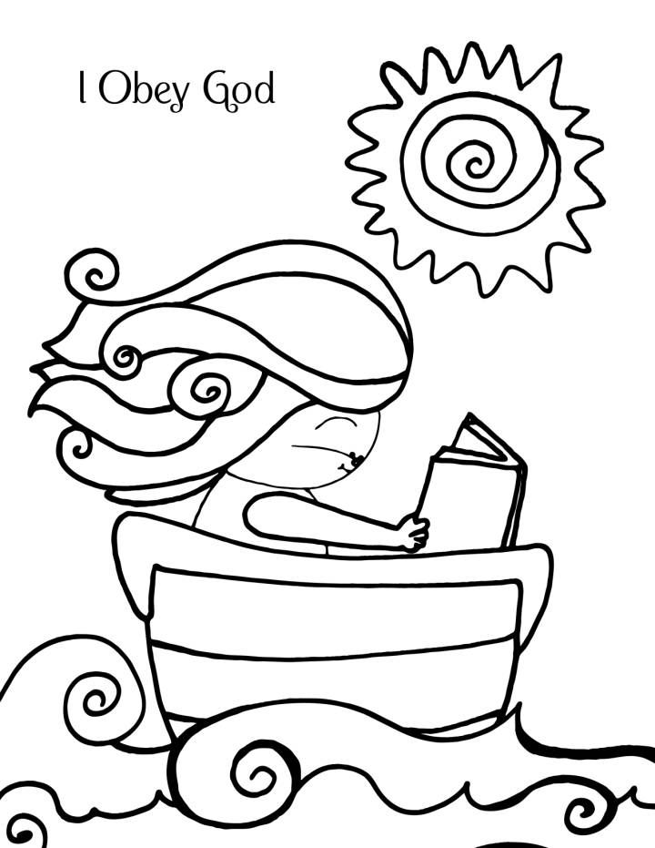 kids coloring pages obey | 8 best images about 5/3/15 Daniel and His Friends Obeyed ...