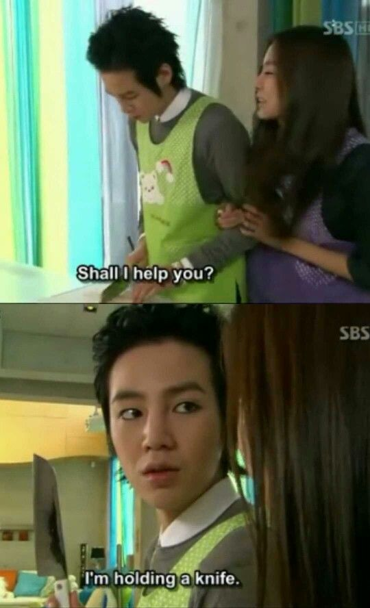 That's so perfect haha | You're beautiful #kdrama