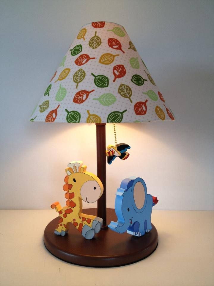 JUngle Lamp for boy room decor