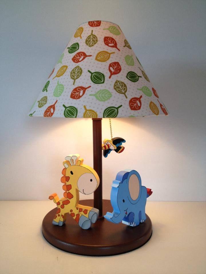 JUngle Lamp for boy room decor