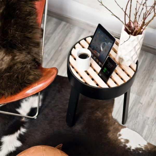 TRELLIS Side Table Charging Station – CROWDYHOUSE
