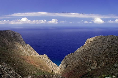 VISIT GREECE| #Tilos #Dodecanese #islands #Greece the Aegean horizon @ #Tilos Photo via: Halasi Zsolt http://www.flickr.com/photos/halasi_zsolt/5889228052/
