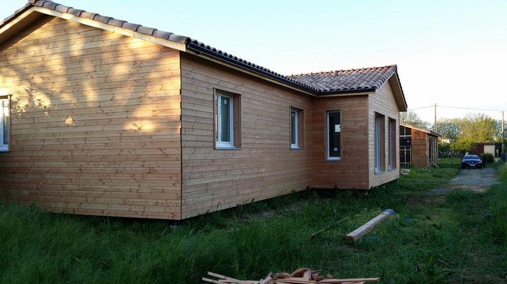 MAISON AMI BOIS EN COURS DE CONSTRUCTION A GAILLAC (81)