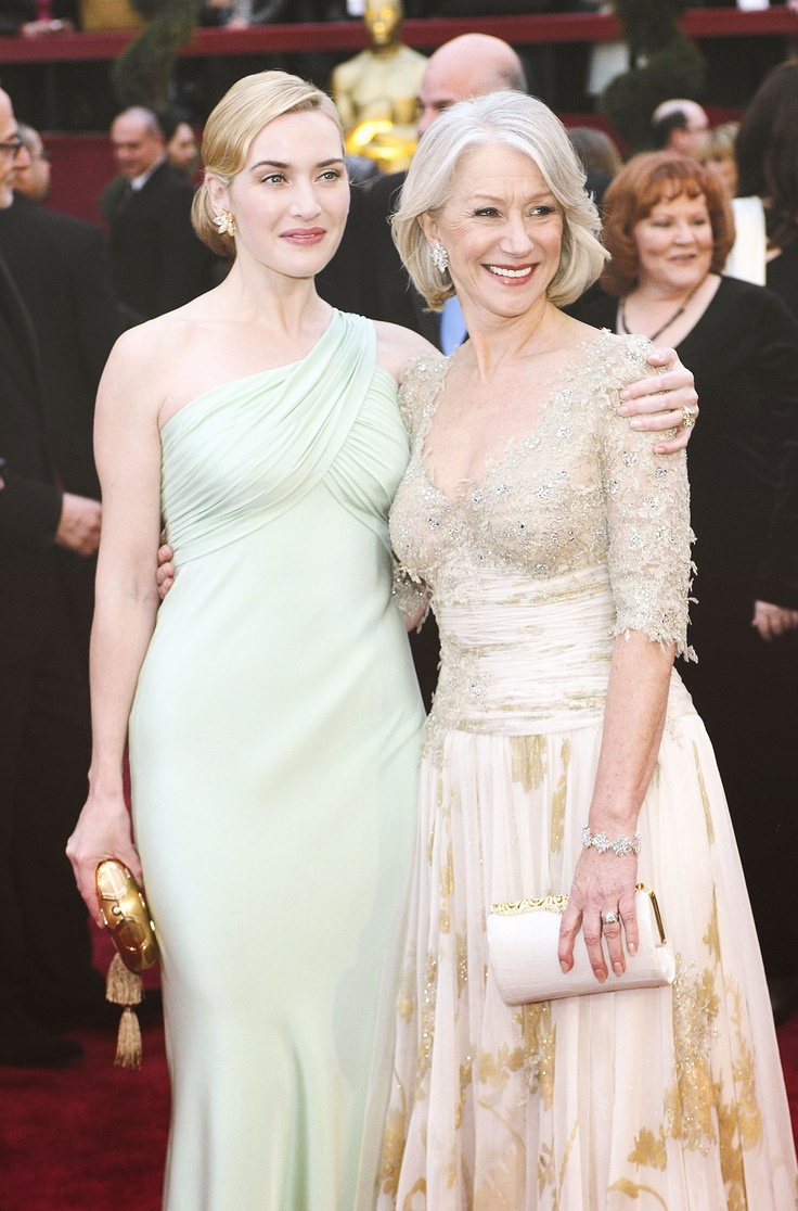 Kate Winslet (Romantic) and Helen Mirren  (Soft Classic)