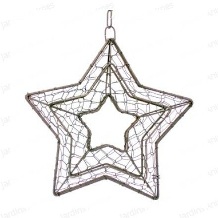 14 best Wire frame Christmas decoration ideas images on Pinterest ...