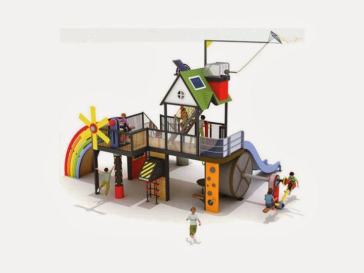 """Sürdürülebilir Mimari: Çocuklara Temiz Enerjiyi Öğreten Oyun Alanı, """"Doğal Enerji Parkı"""""""
