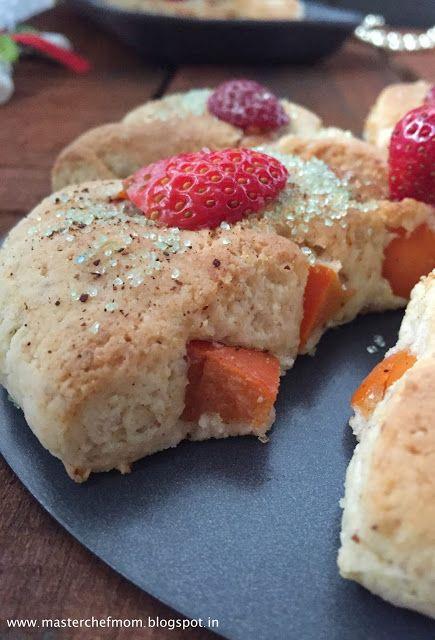 persimmon fruit healthy fruit scones