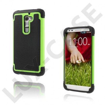 Impact (Grønn) LG G2 Ultra-Sikkert Deksel
