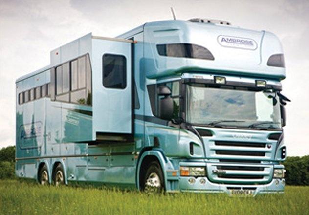 Zara Phillips Scania P380 Oakley Motorcoach/Horsebox