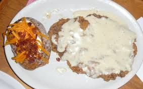 TEXAS CHICKEN FRIED STEAK  Texas Roadhouse Copycat Recipe   Serves: 4   4 beef cubed steaks (1 to 1-1/4 pounds total), pounded to 1/4-i...