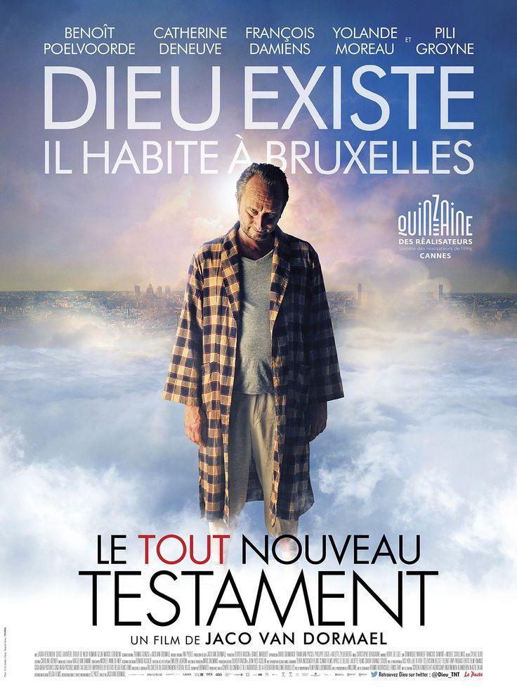 Le Tout Nouveau Testament est un film de Jaco van Dormael avec Benoît Poelvoorde, Yolande Moreau. Synopsis : Dieu existe. Il habite à Bruxelles. Il est odieux avec sa femme et sa fille. On a beaucoup parlé de son fils, mais très peu de sa fille. Sa fille c