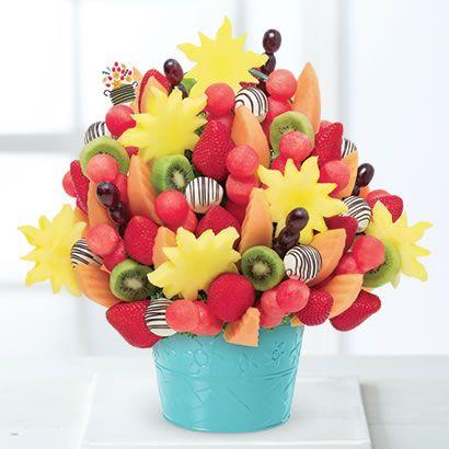 Edible Arrangements - Watermelon Kiwi Summer Bouquet™ Swizzle Pineapple Fruit Truffles®