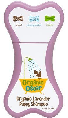 Organic Oscar Organic Lavender Puppy Shampoo, 8oz